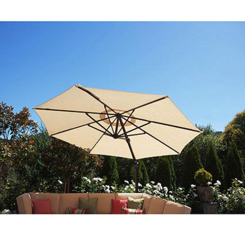 Walmart 2011 Round Offset Umbrella Replacement Canopy