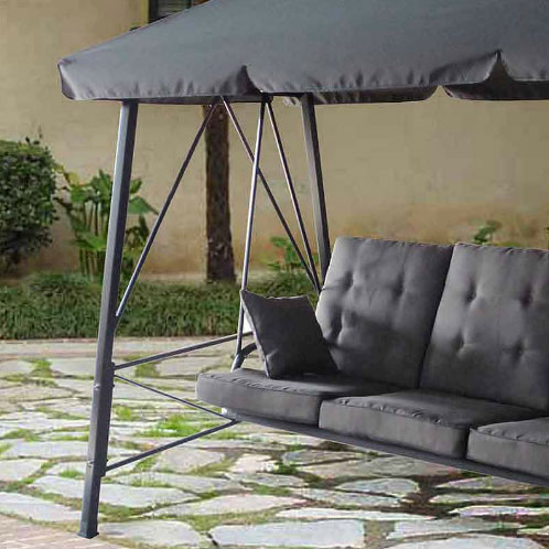 Gazebo 3Person Swing RUS473C Replacement Canopy Garden Winds