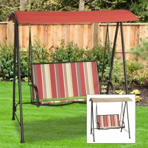 Replacement Canopy 2 Person Sling Swing Garden Winds