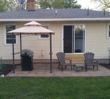 Pacific Casual Grill Gazebo Replacement Canopy Garden Winds