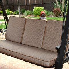 Garden Treasures Patio Chairs Huge Bean Bag Chair Lowes North Haven Replacement Cushion Sc