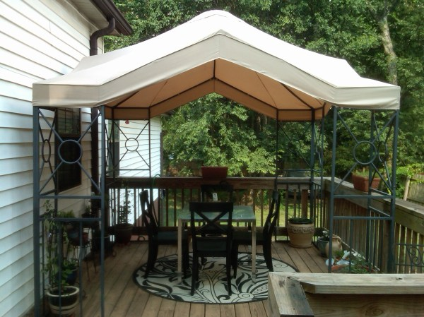 Lowes 10 X Garden Treasures Replacement Canopy Winds
