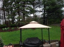 Mainstays Grill Shelter Replacement Canopy Garden Winds