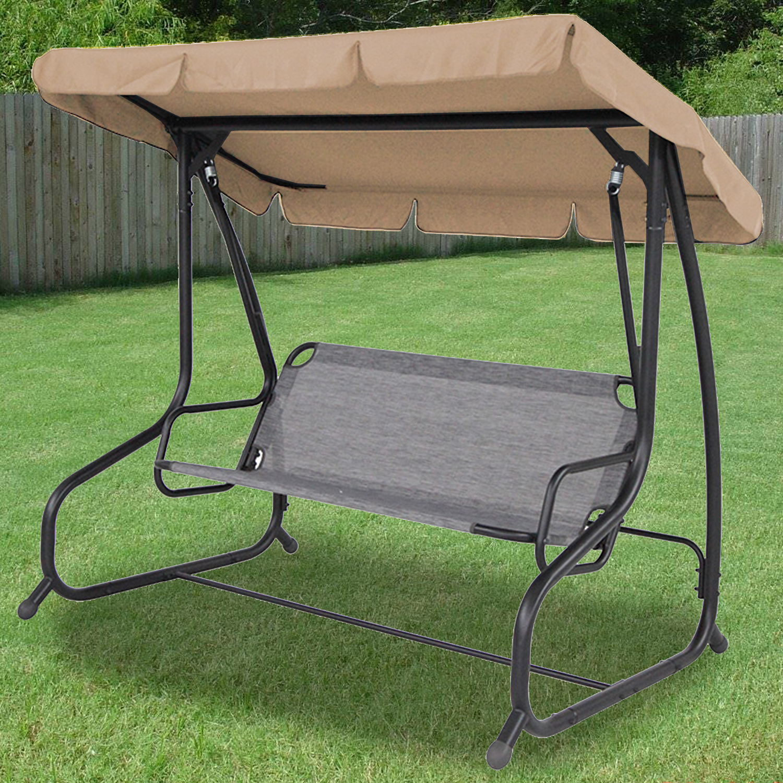 swing chair canopy replacement walmart malibu 2 seater garden seat