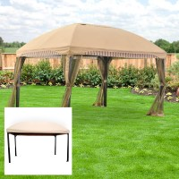 Menards Domed Gazebo Replacement Canopy and Netting ...