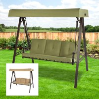 Replacement Canopy for 3 Person Swing - Beige - RipLock ...