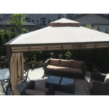 Replacement Canopy Window Gaz 10x12 - Riplock 350