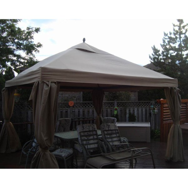 Loblaws Canadian Superstore 12x12 Square Gazebo Model Number Yjsg-201 Garden Winds Canada
