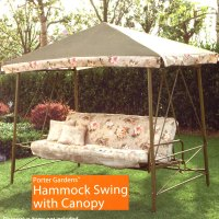 PATIO SWINGS WITH CANOPY | RAINWEAR