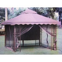 Victory Garden 10 x 10 Scalloped Gazebo Replacement Canopy ...