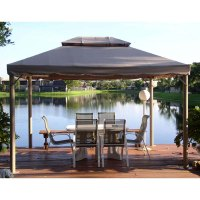 Superstore Bond 10 x 12 Gazebo Canopy Replacement Garden