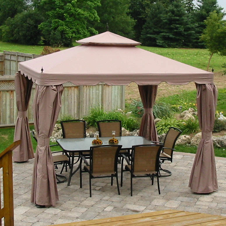 Costco Canada Replacement Gazebo Canopy Garden Winds CANADA