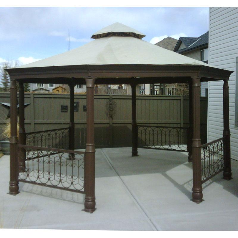 costco octagon gazebo canopy