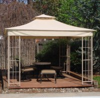 Lowes 10x10 Garden Treasures Gazebo Replacement Canopy S
