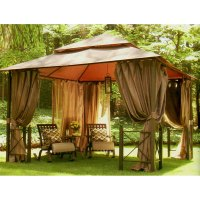 Harbor Gazebo 12 x 12 Replacement Canopy Garden Winds CANADA