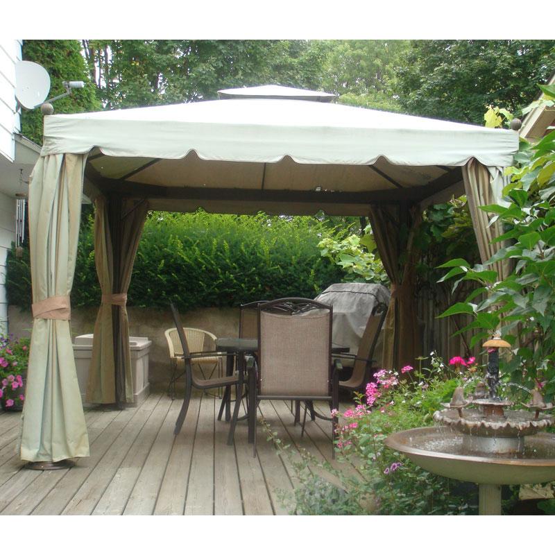10 finial gazebo replacement canopy