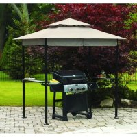 Walmart 8' x 5' BBQ Grill Canopy Replacement 1694157 ...