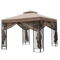 Home Depot 10 x 10 Trellis Gazebo Replacement Canopy ...