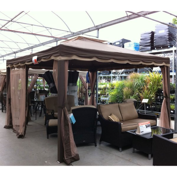 Home Depot Yada 12 X Gazebo E2720 Garden Winds Canada