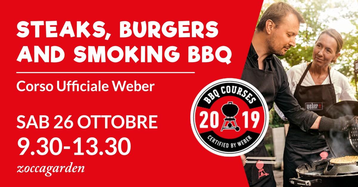 Corso Weber bbq