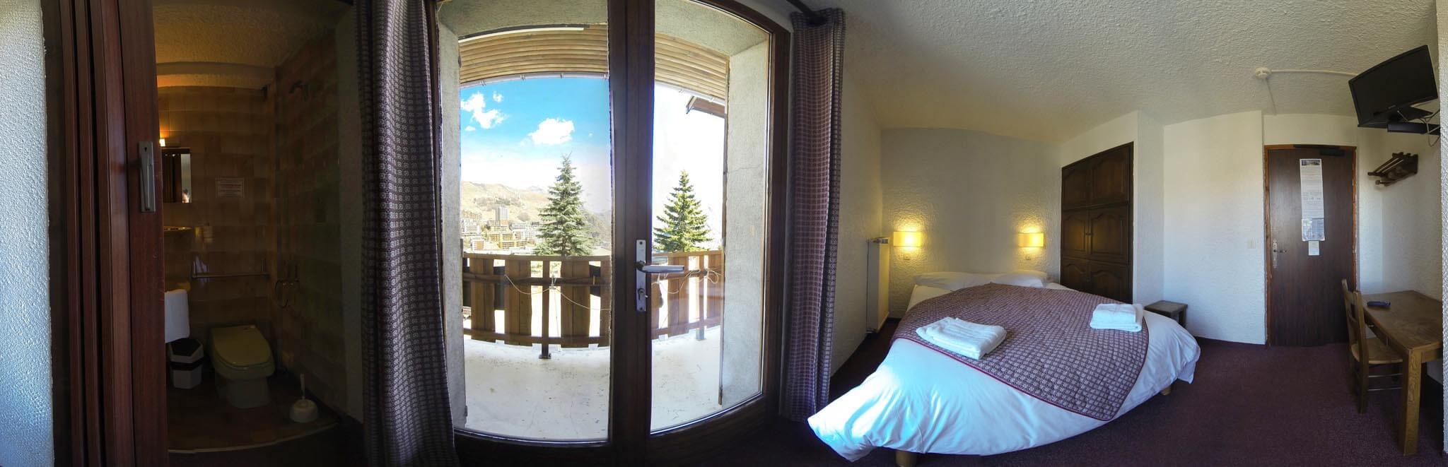 Chambre 1 Hotel les Gardettes Orcieres