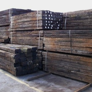 Reclaimed Railway sleepers