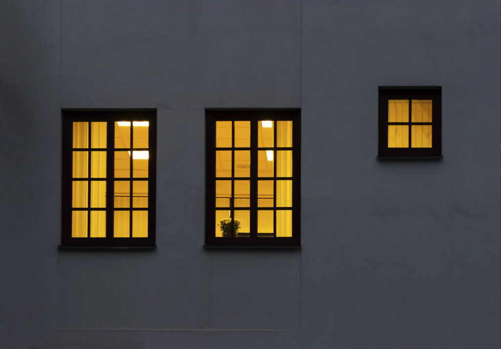 Two and a half windows