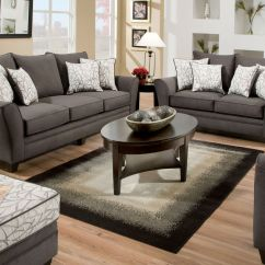 Charcoal Gray Sofa Sets Replacement Cushions For Seats Cosmo Living Room Collection
