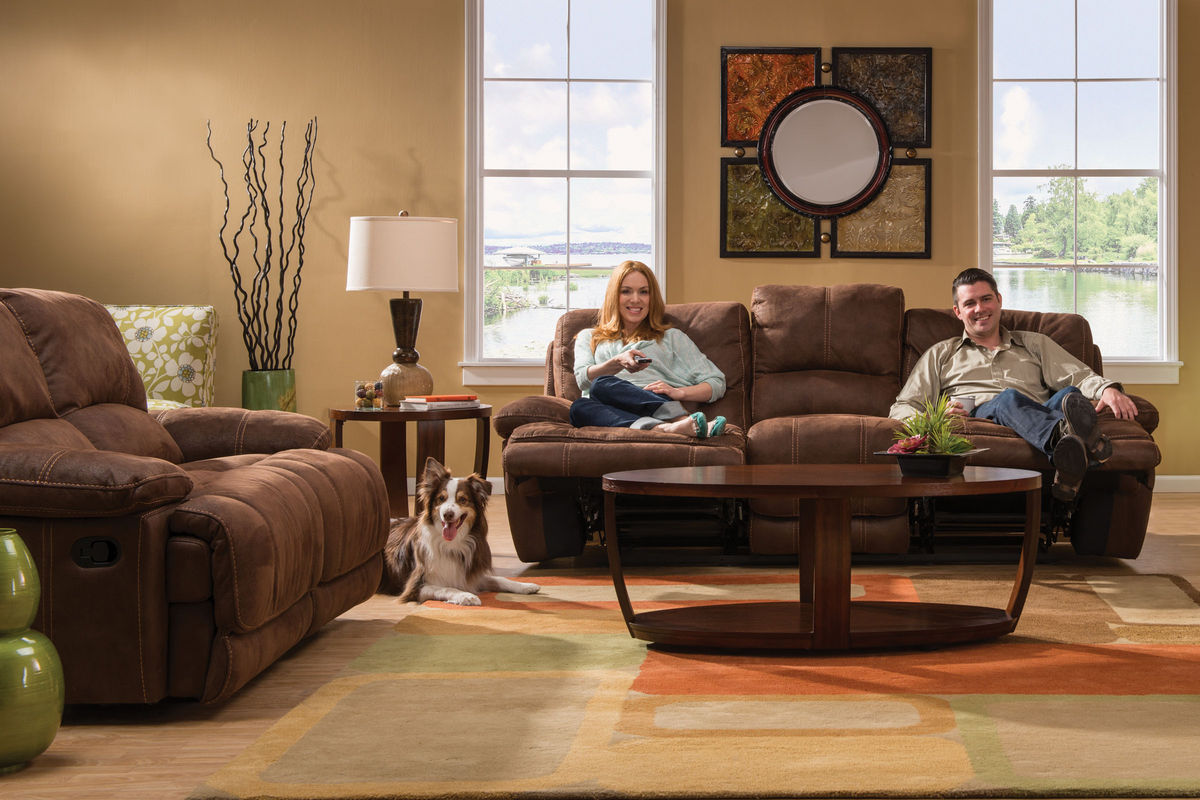 dual reclining sofa and loveseat bed orange nsw valeri living room collection