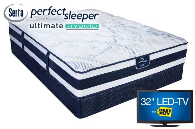 Serta Perfect Sleeper Ultimate Hybrid Sable Dunes From Gardner White Furniture