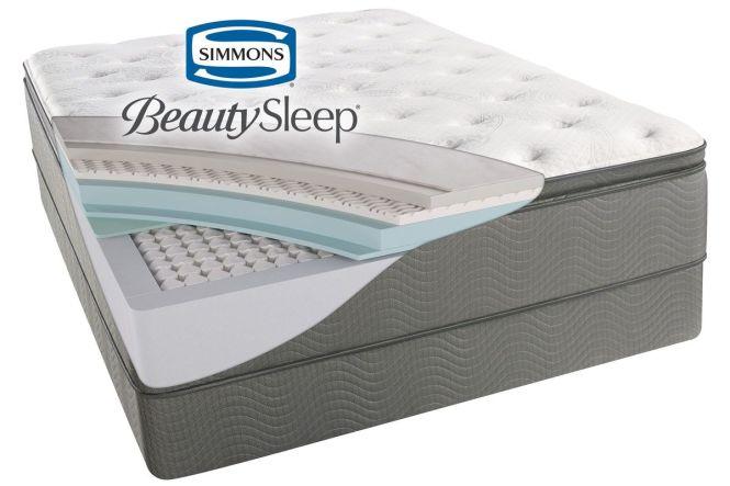 Simmons Beautysleep Sun Valley Plush Pillow Top From Gardner White Furniture