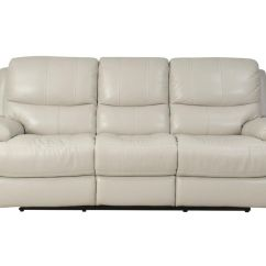 White Reclining Sofa And Loveseat Baxter Scs Leather Power Home The Honoroak