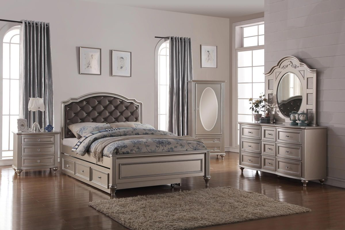 Chantilly Twin Bedroom Set at GardnerWhite