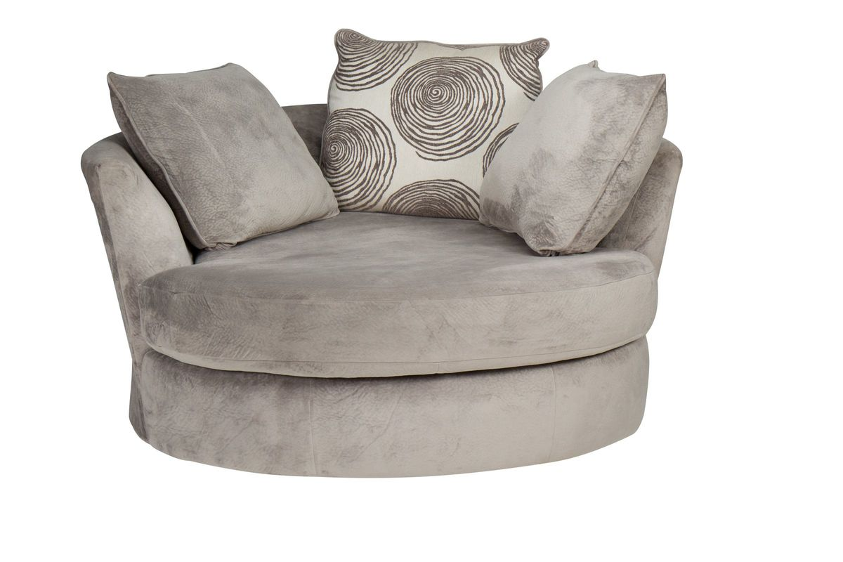 swivel pod chair leopard wingback gaylord microfiber at gardner white