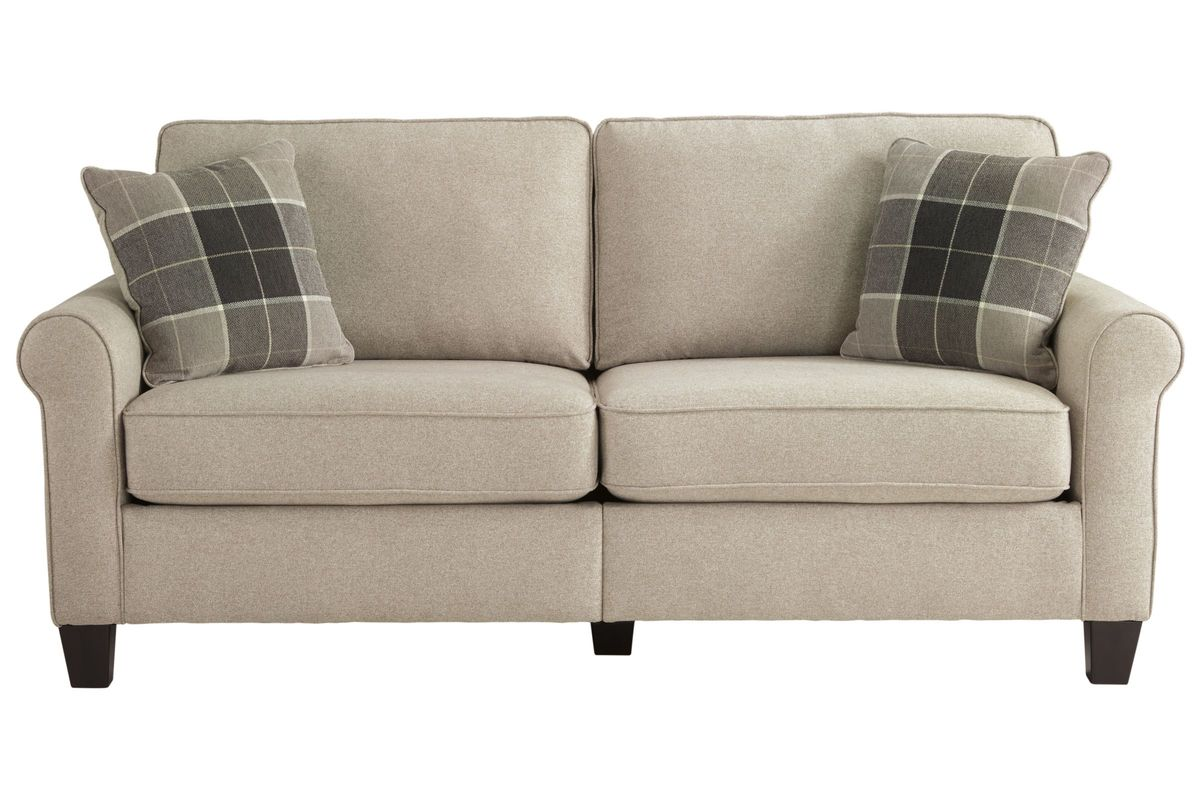 sofa box saddle set lingen in a by ashley at gardner white