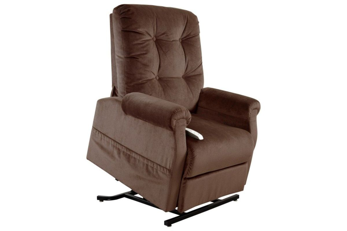 power lift chair coalesse wrapp windemere brown motion at gardner white from furniture