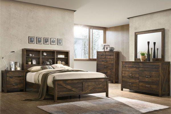 white king bedroom furniture sets Hayfield 5-Piece King Bedroom Set at Gardner-White