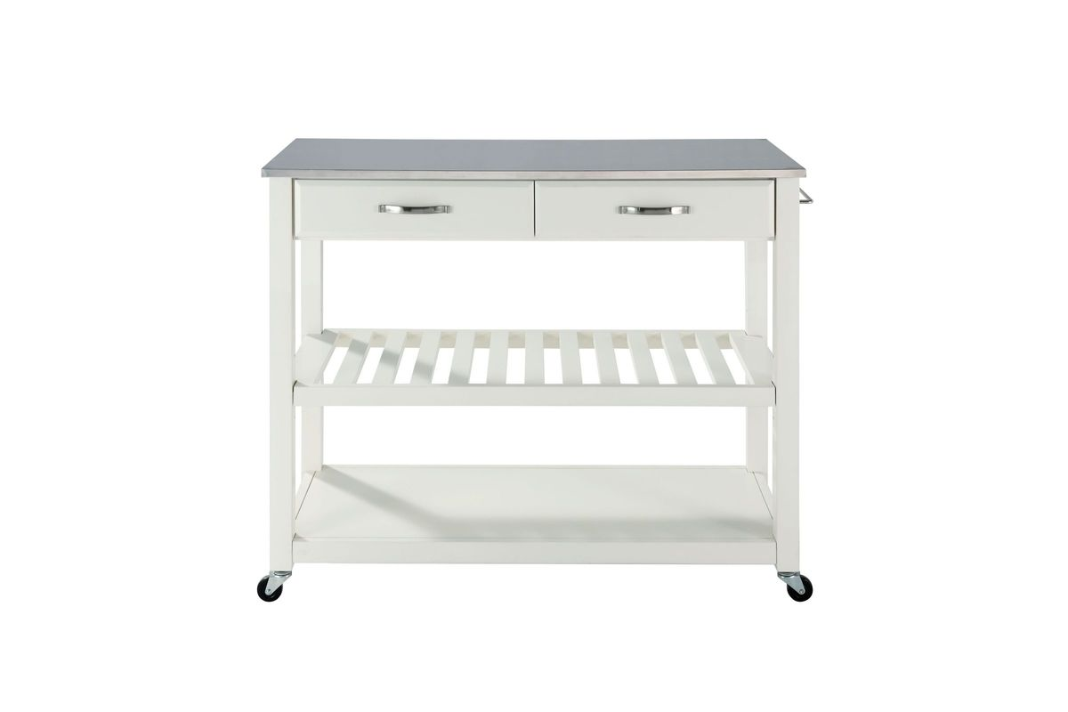stainless steel stools kitchen cabinets nashville tn top cart island with optional