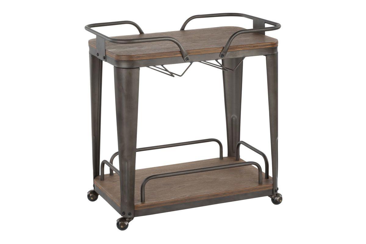 oregon industrial bar cart