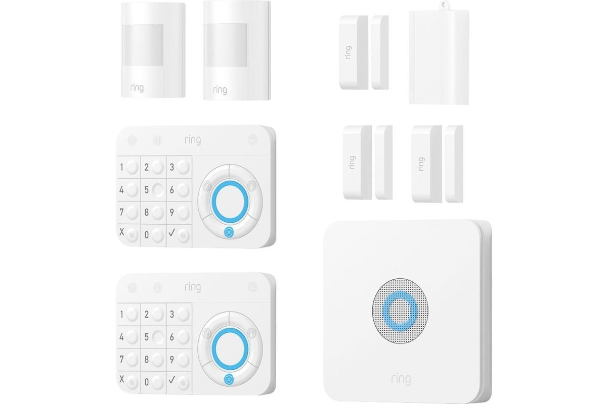 Ring Protect Kit Home Security System Starter Kit At