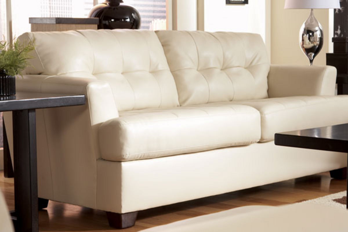 durablend sofa retro vinyl bed ivan leather at gardner white