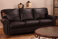 Belfast All Leather Sofa, Loveseat & Chair at Gardner-White