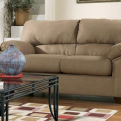 Tv Sofa Tufted Grey Graham Microfiber Loveseat And 32 Quot From Best Buy
