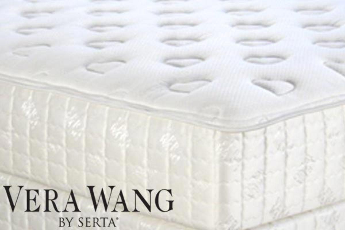 Serta Crystal by Vera Wang EuroTop Plush  King Size at GardnerWhite