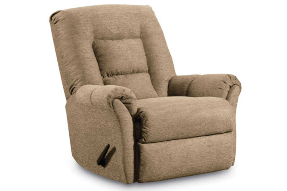 Dooley Cashmere Rocker Recliner at GardnerWhite