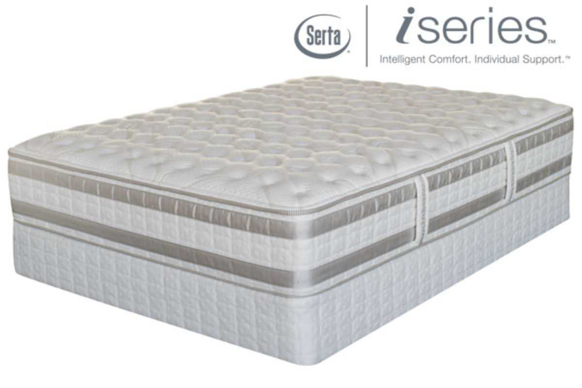 iSeries by Serta Admiration King Mattress at GardnerWhite