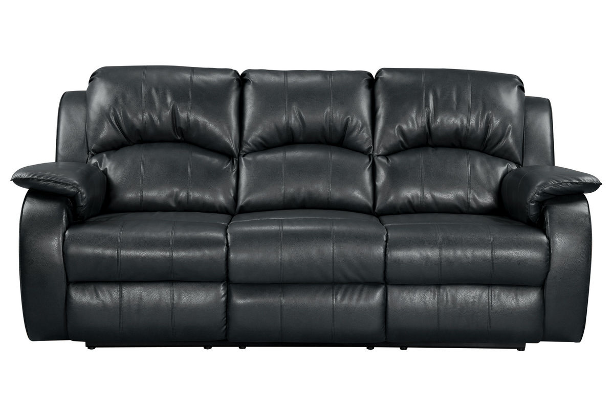 brooklyn bonded leather lounger chair and ottoman outdoor chairs for heavy people tahoe reclining sofa at gardner white