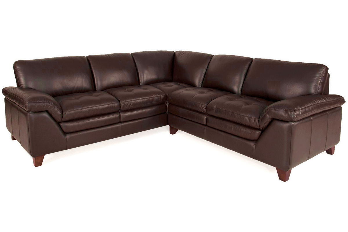 armless white leather sofa divani casa 6123 modern and black sectional amaretto 2 piece chair