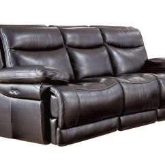 Reclining Sofa Leather Simmons Upholstery Troy Bronze Chenille Reviews Jasper Power At Gardner White