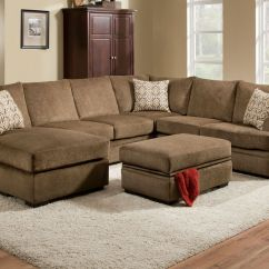 Gardner White Living Room Sets Grey Coffee Table Ideas Fillmore Chenille Storage Ottoman At